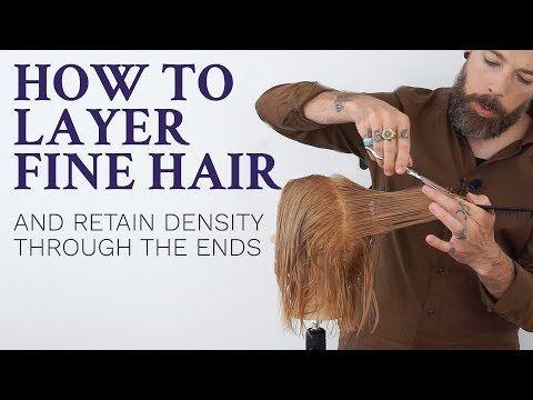 Layering Fine Hair It Can Be Done Fine Hair Thin Hair