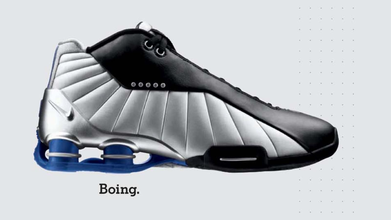 20 Designs that Changed the Game Nike Shox