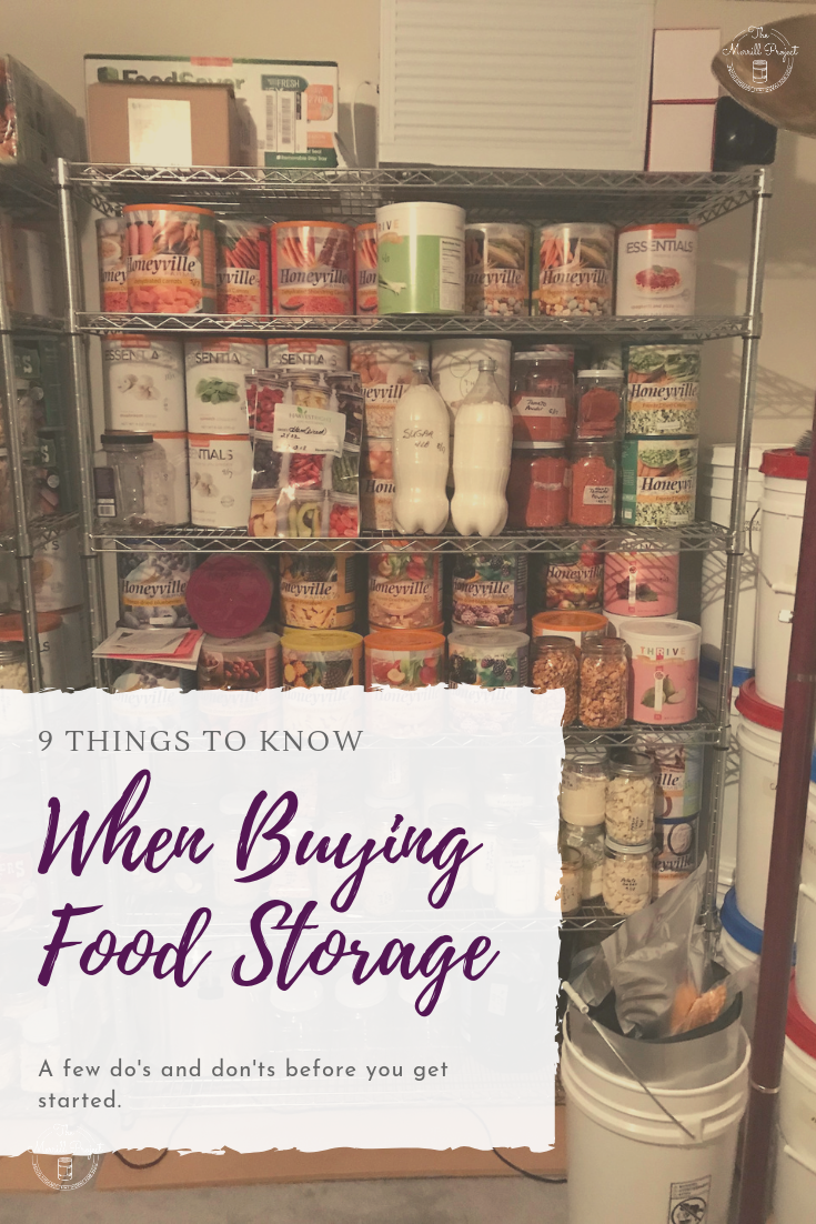 Buying Food Storage Do S And Dont S Emergency Food Storage