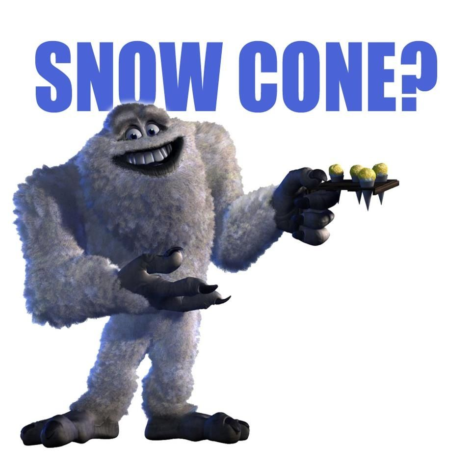 Abominable Snow Man Monster Inc Costumes Abominable Snowman Monsters Inc Disney Monsters
