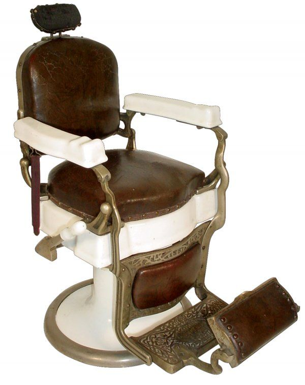 Vintage barber chair - Vintage Barber Chair Barbershop/Salon Concept Design Pinterest