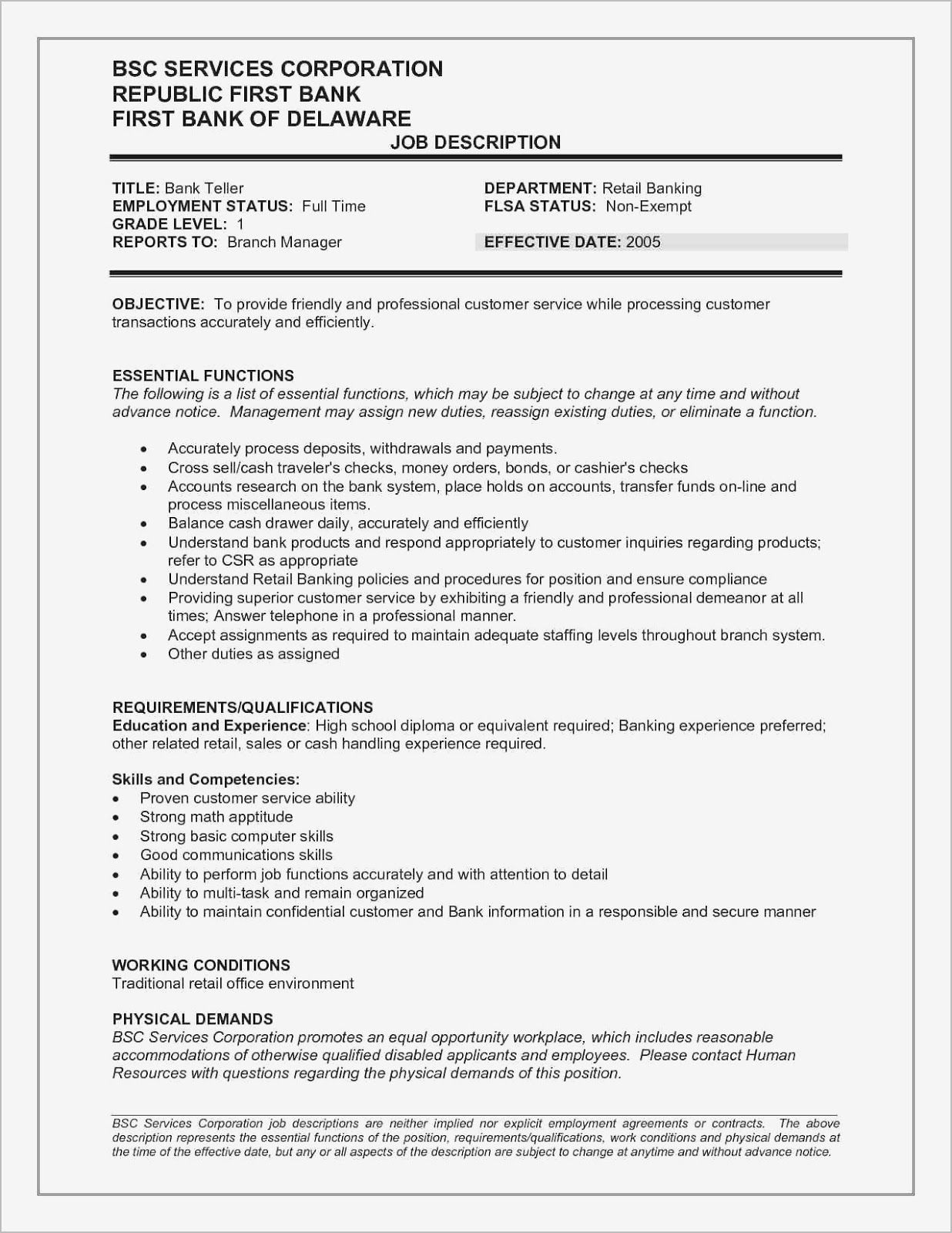 good resume title for customer services and other jobs