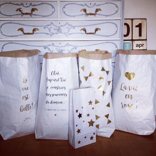 sac de rangement xxl d co en papier kraft triple paisseur paperbag pinterest rangement. Black Bedroom Furniture Sets. Home Design Ideas