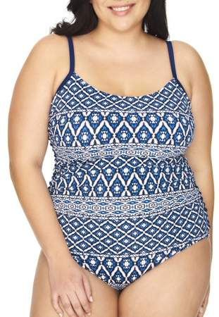 e02970f9c58 Women's Plus Size Diamond Tribe One Piece Swimsuit in 2019 | Products