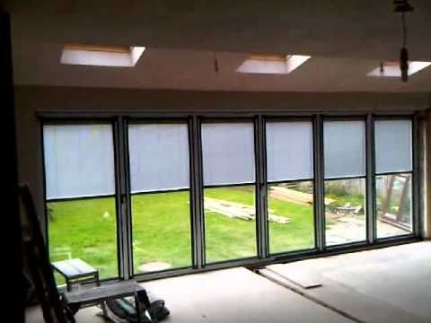 Bi-Folding Door Blinds | Exernal/internal Doors & Windows ...