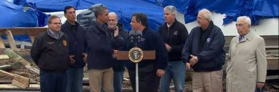 President Obama, Chris Christie make show of unity in tackling Hurricane Sandy cleanup