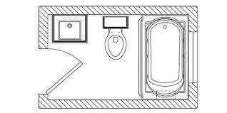 4 x 6 bathroom layout - Google శోధన | Bathroom layout ...