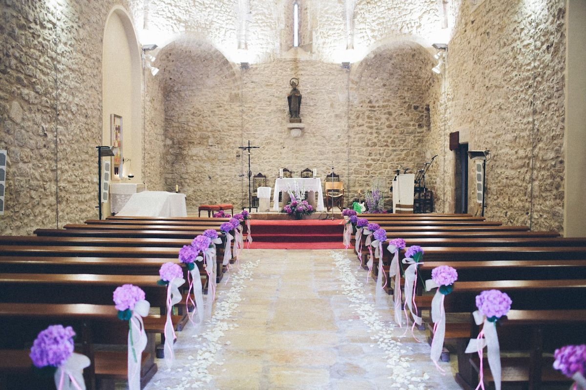 Purple Hued Costa Brava Wedding