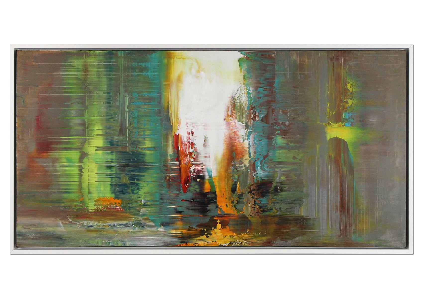 Shine On Zeitgenossisches Acrylgemalde Mit Rahmen Kunstproduktion Acrylgemalde Abstraktes Gemalde