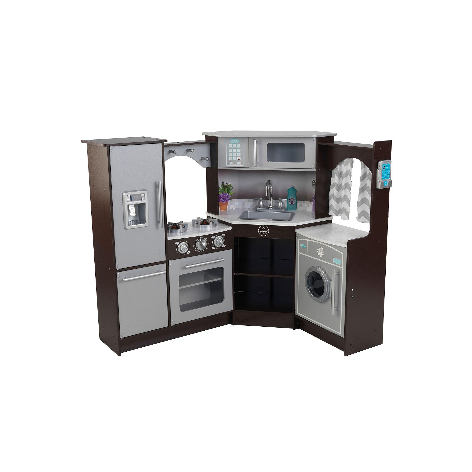 Kid kraft ultimate corner play kitchen with lights u sounds