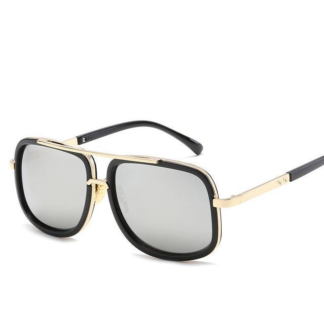 0fd205aae4 2019 Brand Design Men Sunglasses Vintage Double-Bridge Driving Male Sunglass  Mirror Women Sun Glasses Men Eyewear Oculos de sol