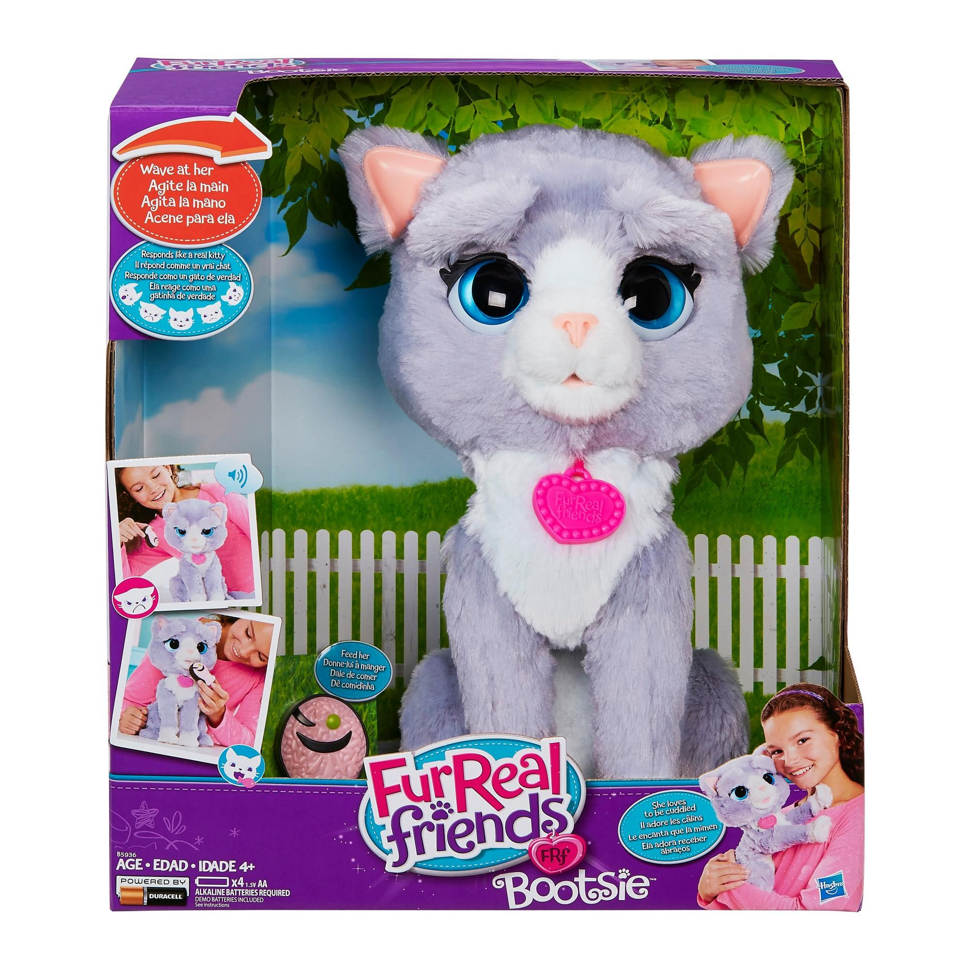 Christmas Gifts For Kids Fur Real Friends Cat Toys Pet Toys