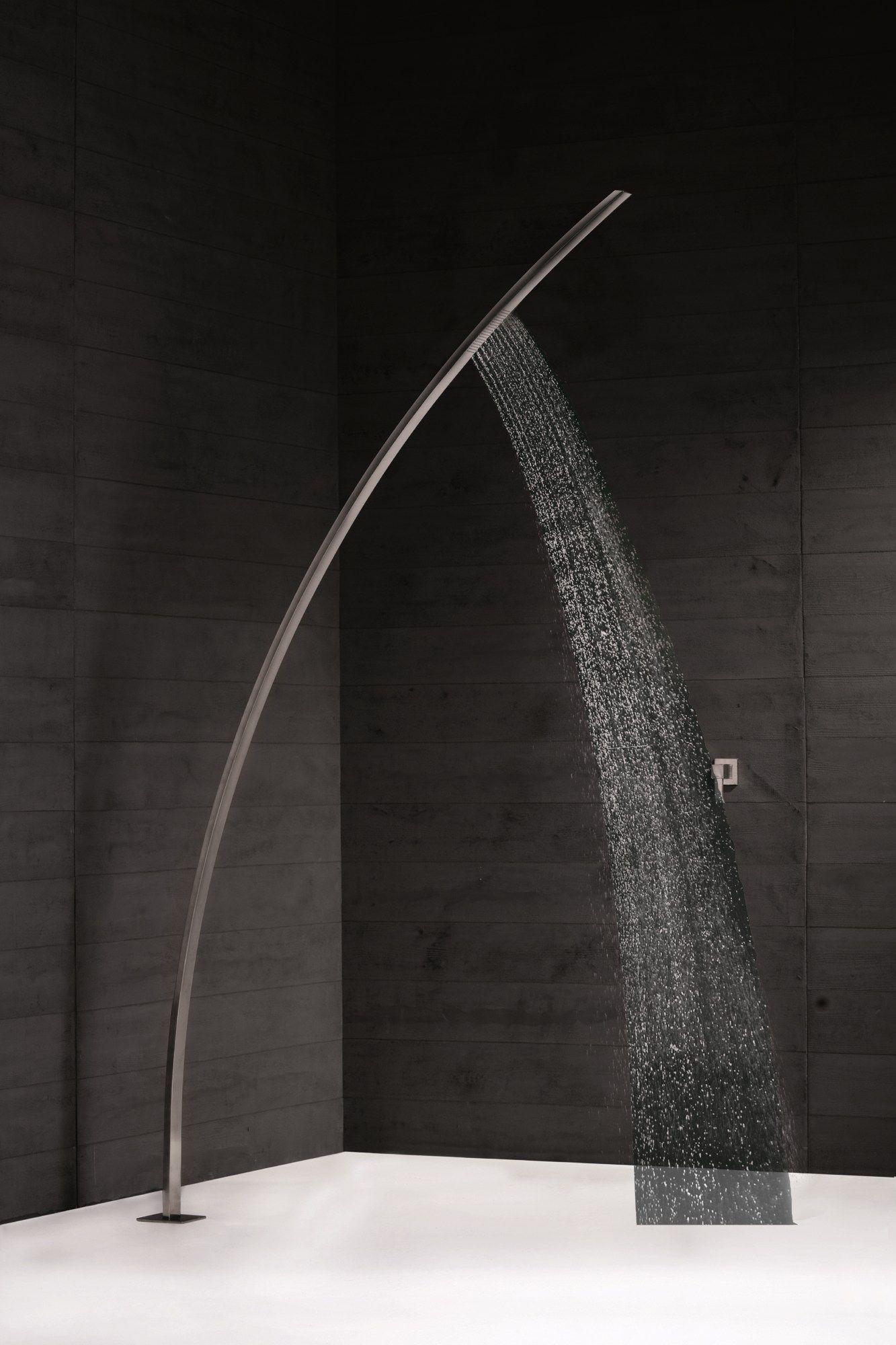 OUTDOOR Doccia esterna in acciaio inox by NEWFORM bath