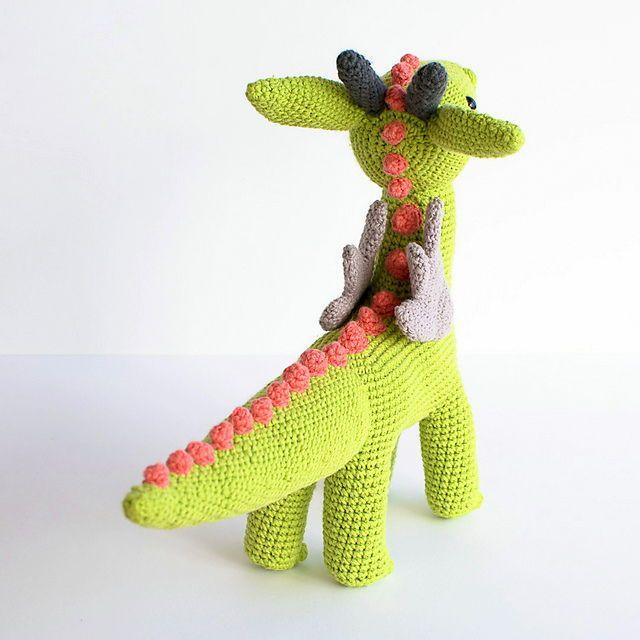 Amigurumi Dragon Crochet pattern, Dragon Crochet Patterns, Amigurumi ...