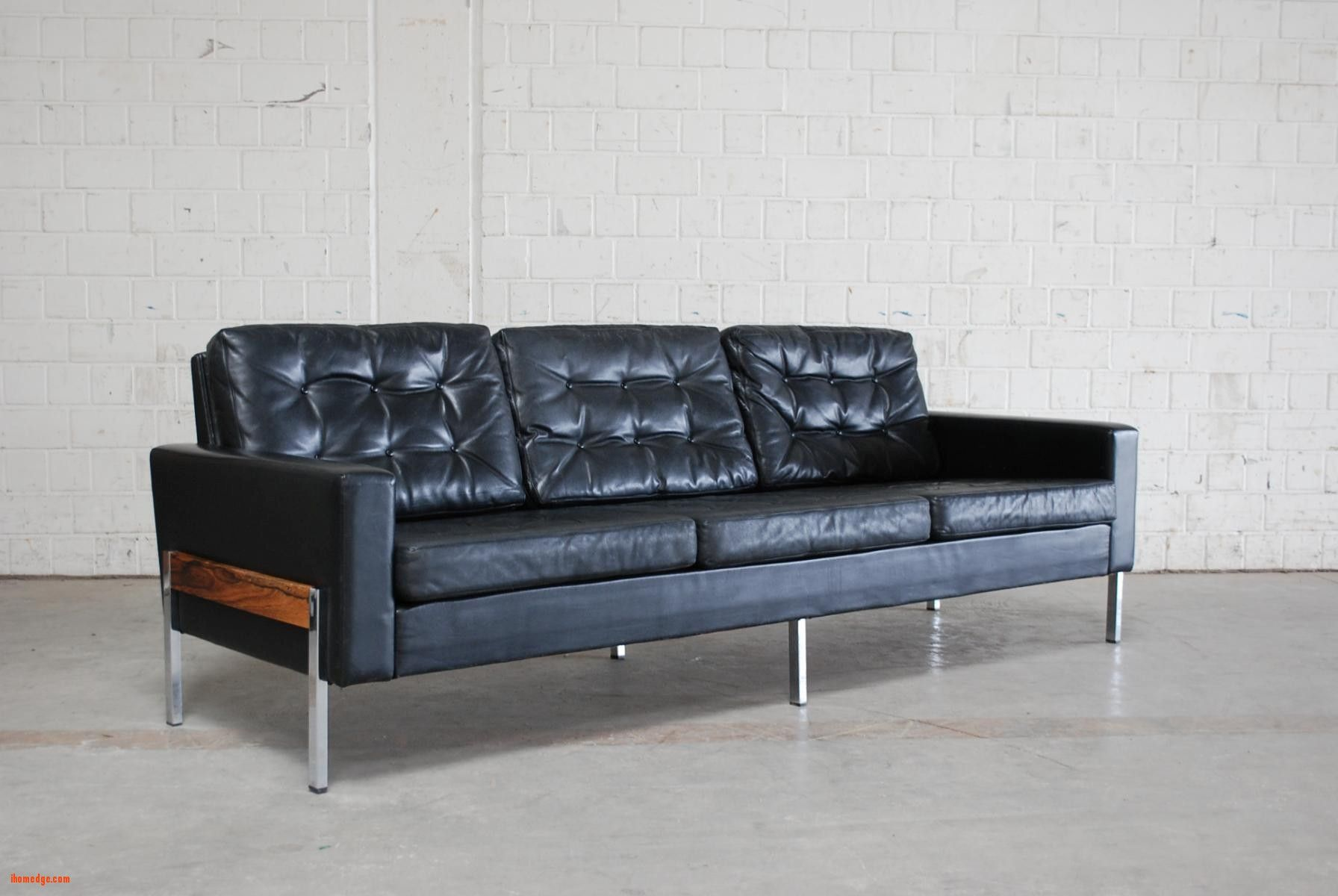 On Pin CouchBlack Ihomedge Bed By Sofaamp; Leather g7vYf6by