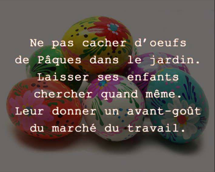 #paques #travail #oeufdepaques