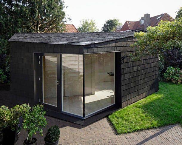 Cobertizo Para Jardin Arquitectura Y Naturaleza Pinterest - Cobertizo-para-jardin