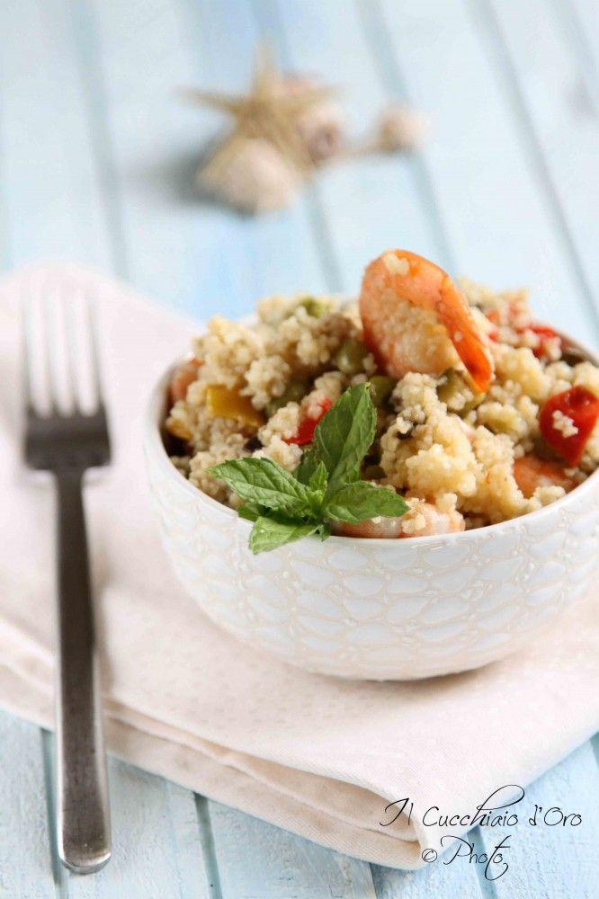 Il cucchiaio d 39 oro cous cous con verdure e gamberetti for Cucinare cous cous