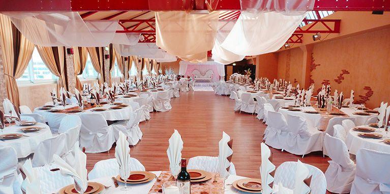 Décoration salle mariage pas cher prix discount badaboum