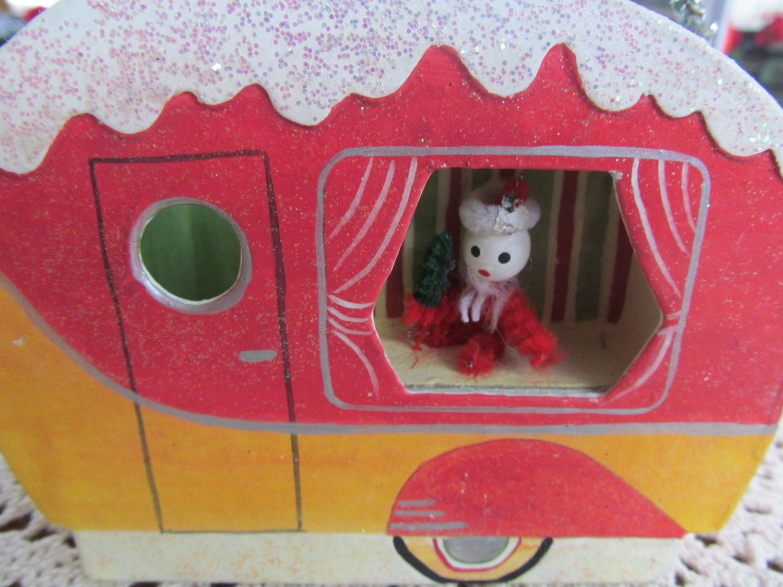 Trailer Park Sally Rv Camper Decor Cardboard Box Camping Party Birthday Gift Idea 1600 Via Etsy