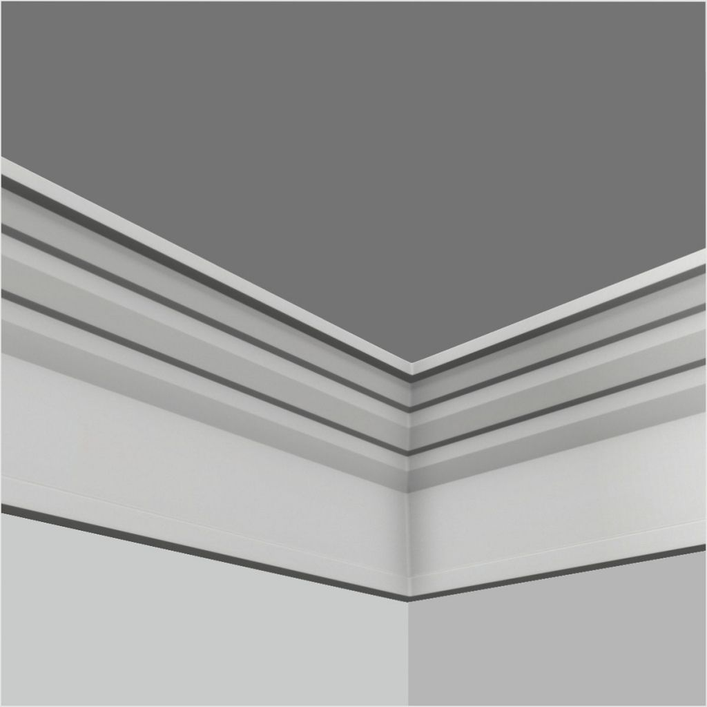 Polyurethane plain crown moulding for cabinets | Crown ...