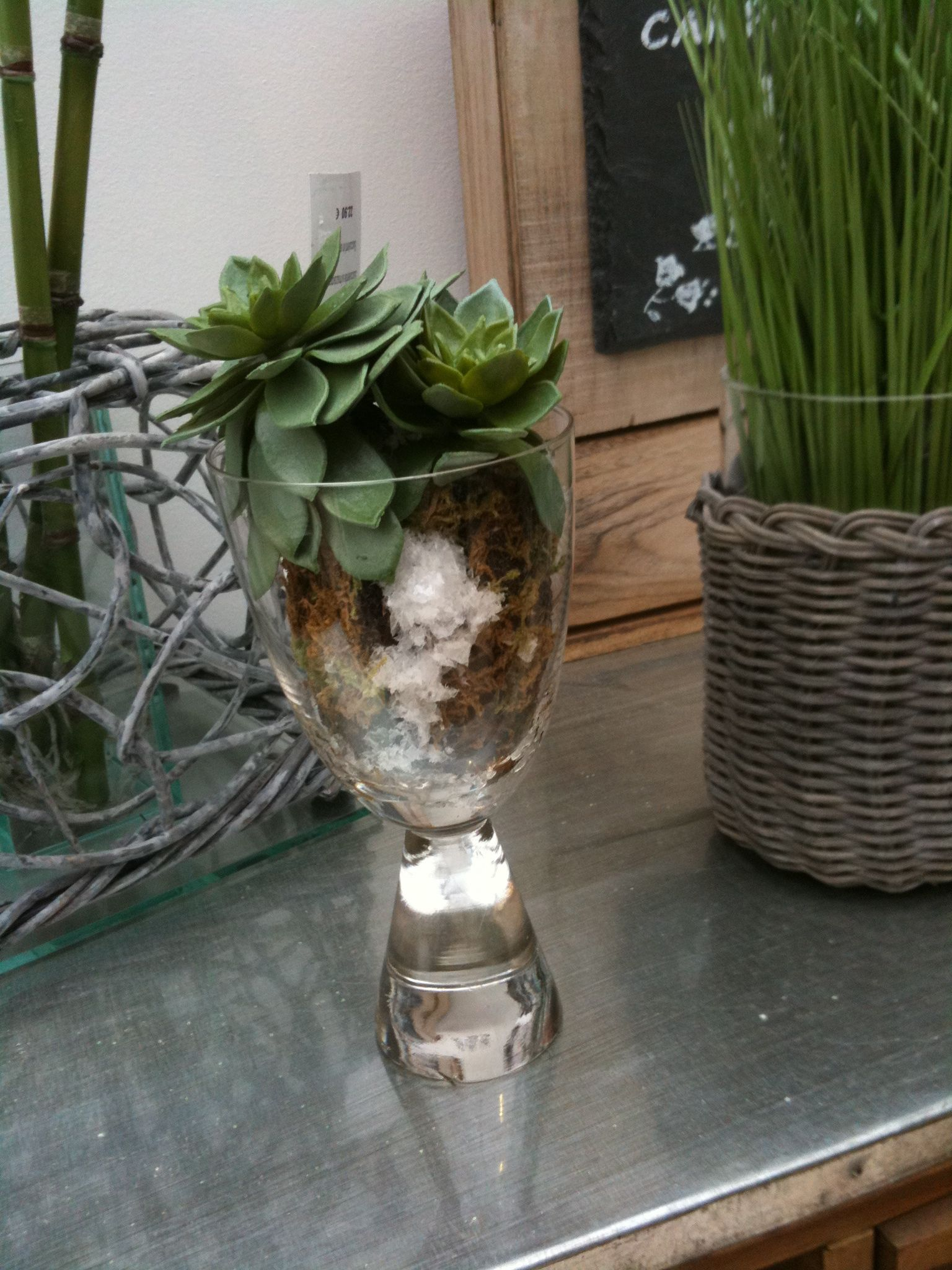 centerpiece idea I found in a shop in S. France
