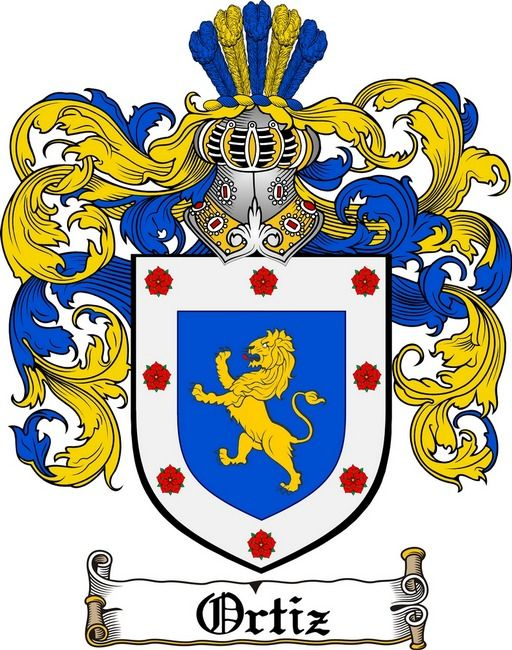 ORTIZ FAMILY CREST - COAT OF ARMS gifts at www.4crests.com ...