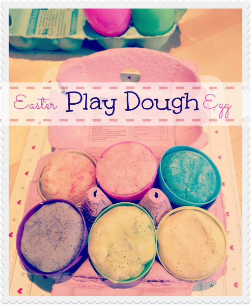 Easter egg play dough pinterest play dough easter and egg easter egg play dough a lovely gift for easter instead of chocolate fun and thrifty and will keep the kids entertained for hours negle Image collections