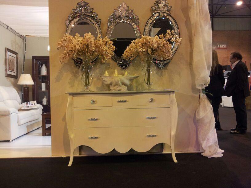 Recibidor vintage de colores crudos mueblesarria muebles decoracion vintage recibidor - Muebles decoracion sevilla ...