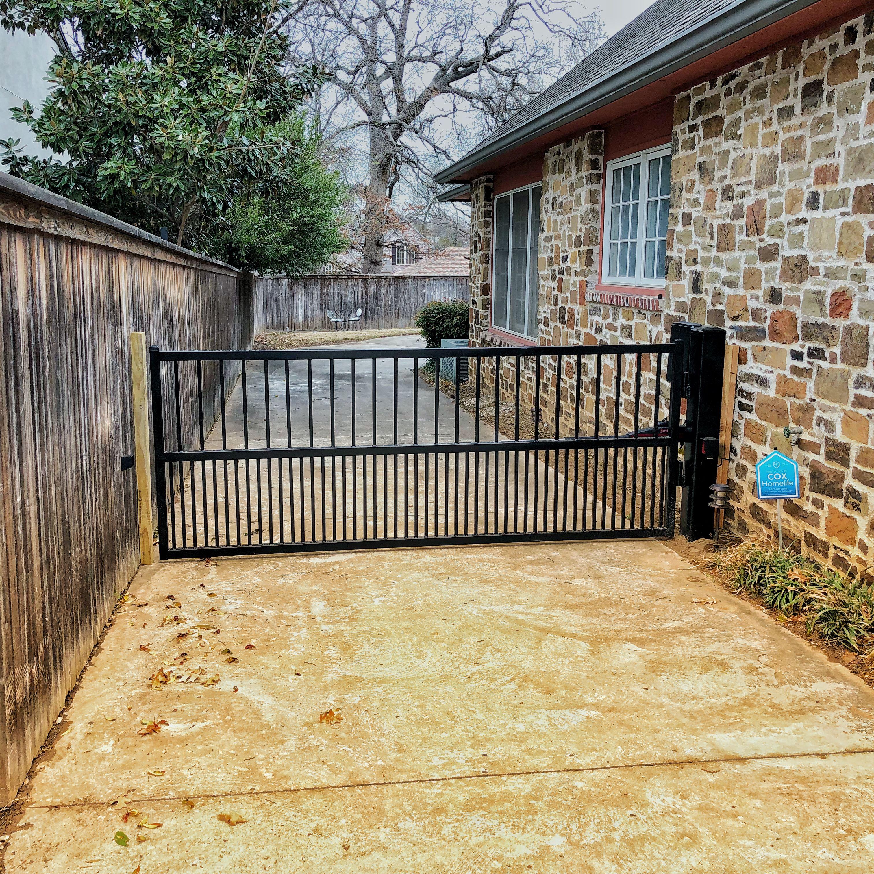 Keep Dogs In The Backyard Gate Automation Electric Driveway Gates Backyard