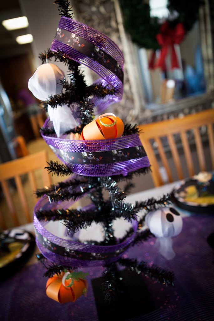 Nbc Centerpiece Lilah S Nightmare Before Christmas Bday Party