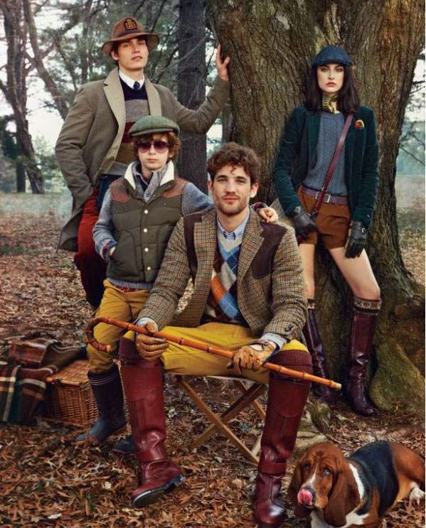 Outdoorsy yet preppy layers... for Christmas go with more reds, greens, navy and browns.. less yellows and fall tones