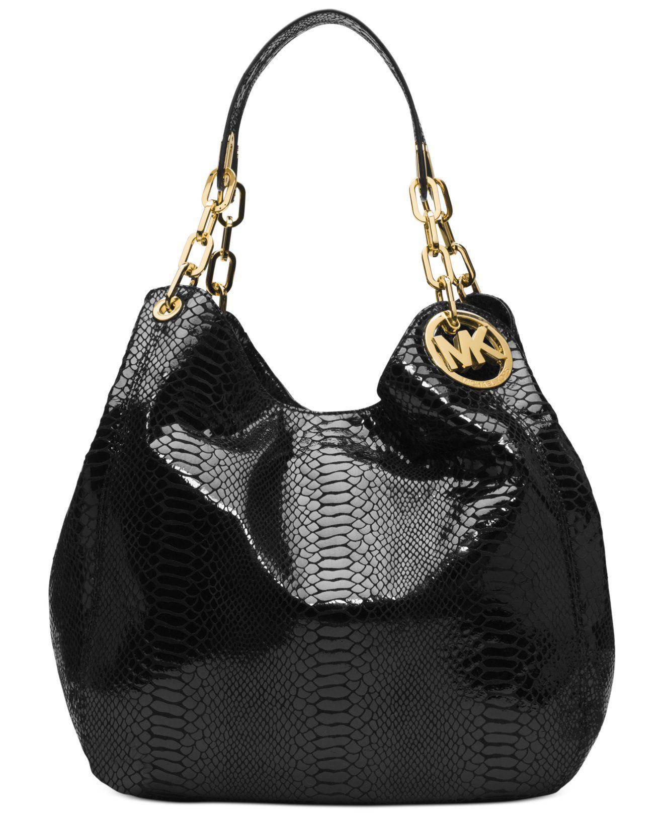 Michael Kors Fulton Large Shoulder Tote Handbags Accessories Macys