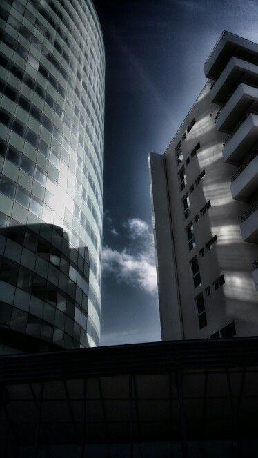 Immeubles presqu'île de la pointe simon