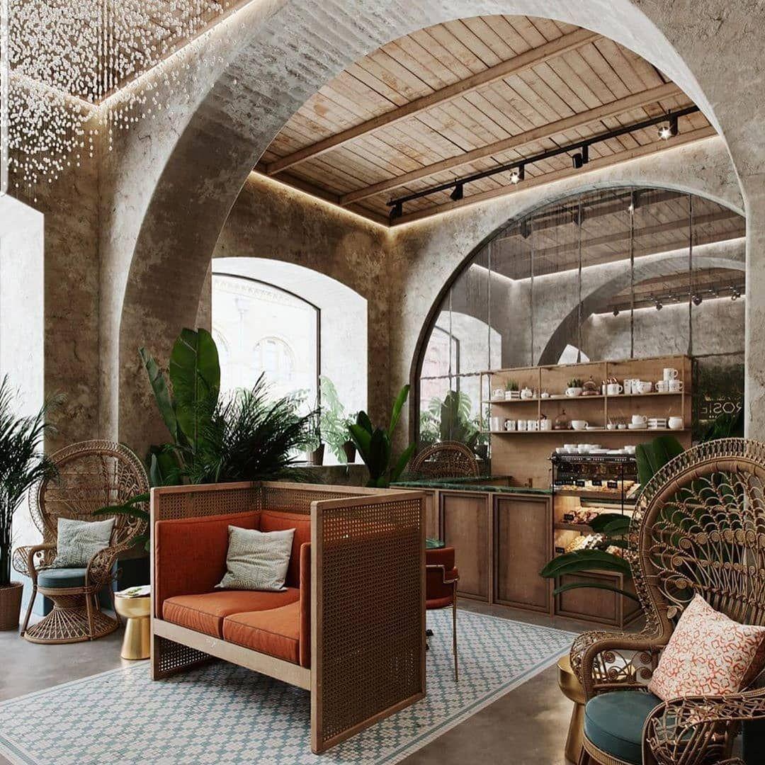 New The 10 Best Home Decor With Pictures فكرة البارتشن المفتوح تتميز بأنها لاتفصل الصالة Restaurant Interior Design Interior Design Pictures Cafe Design