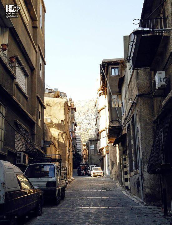 حارة الأولياء العفيف في 10 11 2016 Afif Damascus On 10 11 2016 Syria Damascus دمشق سوريا عدسة شاب دمشقي Syria Photo Damascus