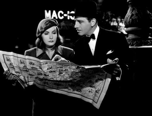 Greta Garbo Melvin Douglas  Ninotchka, 1939