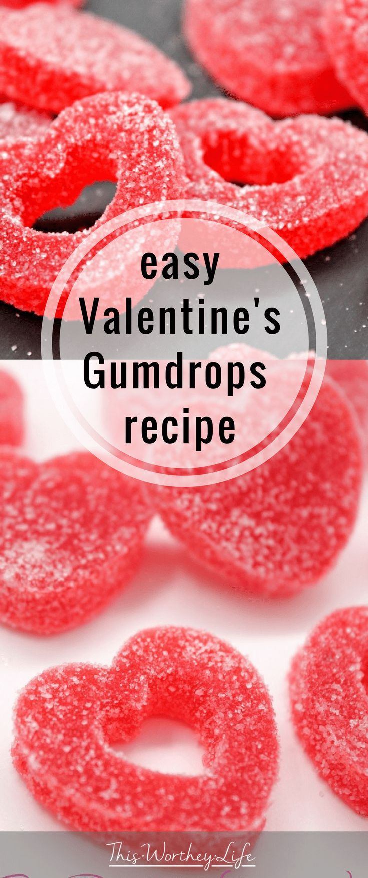 If you need a cute and #easy Valentine's Day #recipe, check out this amazing homemade Gumdrops Recipe. These make great treats #forkids looking to bring something #forschool, or even adults needing to bring a sweet treat #forwork! These are definitely a hit!