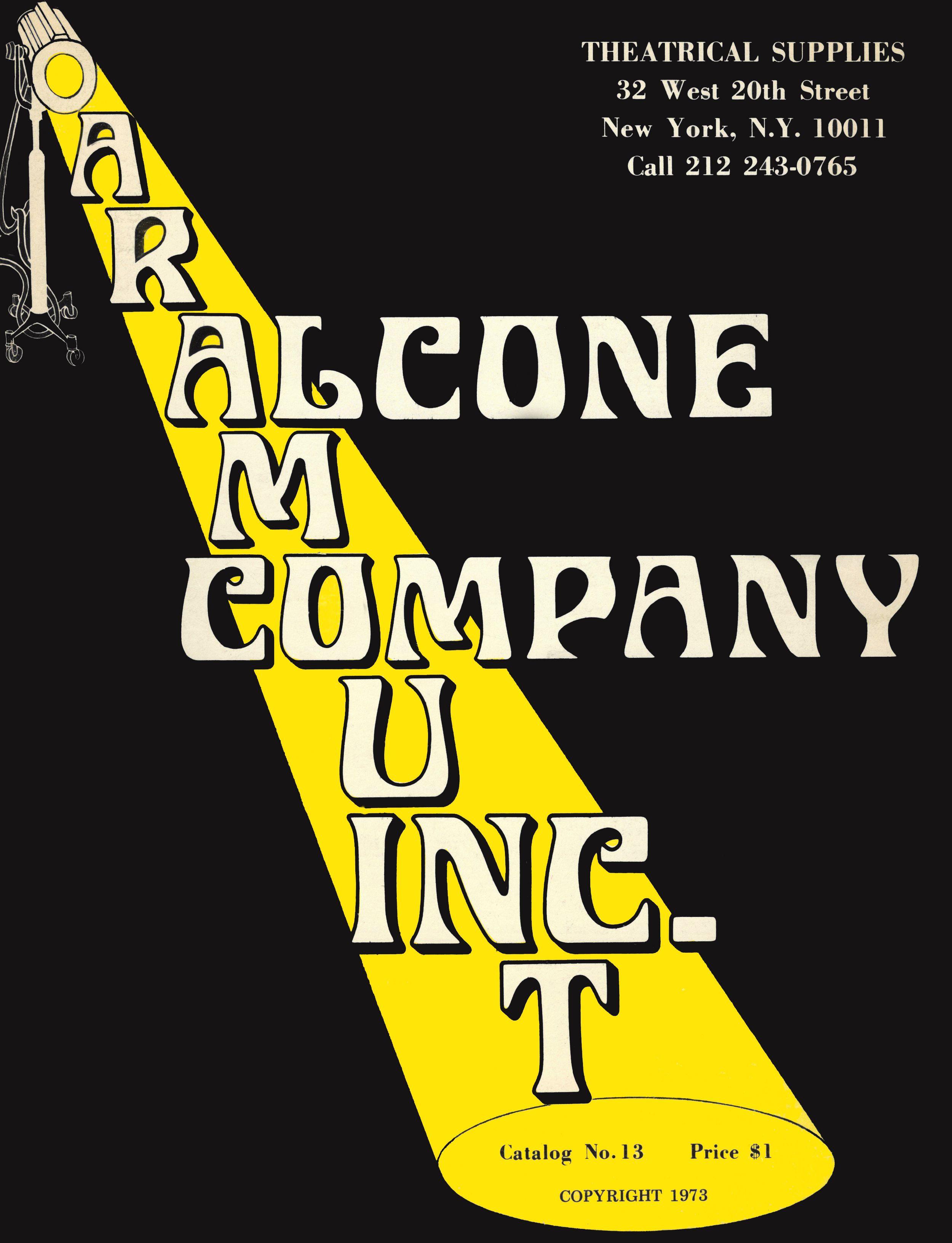 Alcone Company 1973 Vintage Catalog Online cosmetics