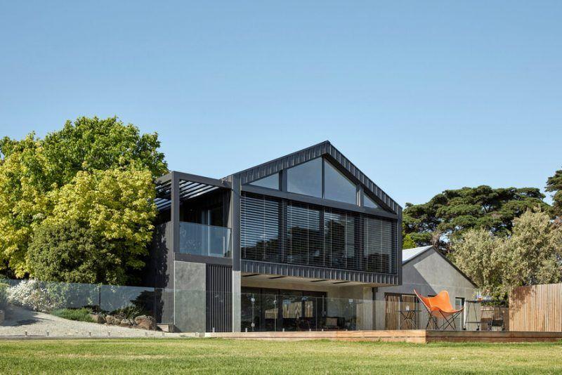 Modern Australian Homestead Ceres Gable House By Tecture Gable House Melbourne House Sydney House