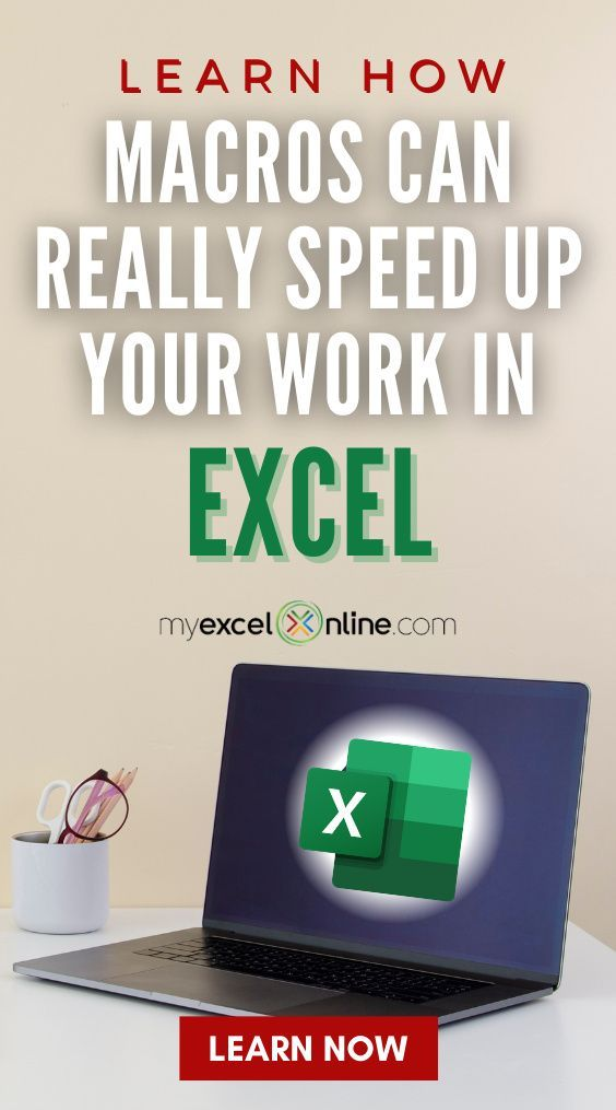 The 101 Ready to Use Excel Macros e-book is finally here! You get ready to use Excel Macros and downloadable Workbooks with solutions for you to practice your skills! The Macros will save you hours in your everyday work! This e-book is from #MyExcelOnline Finance Careers   Microsoft Excel Formula Tips + Tutorials   #Excel #MSExcel #MicrosoftExcel #EBook #ExcelforBeginners #Macro