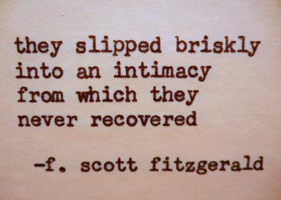 F. SCOTT FITZGERALD Love Quote Made On by PoetryBoutique