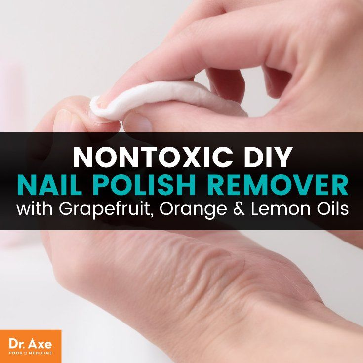 Diy Nail Polish Remover With Grapefruit Orange Lemon Oils