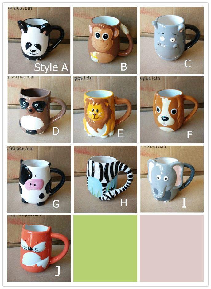 cute animal face mug 3d Google Search Panda dog