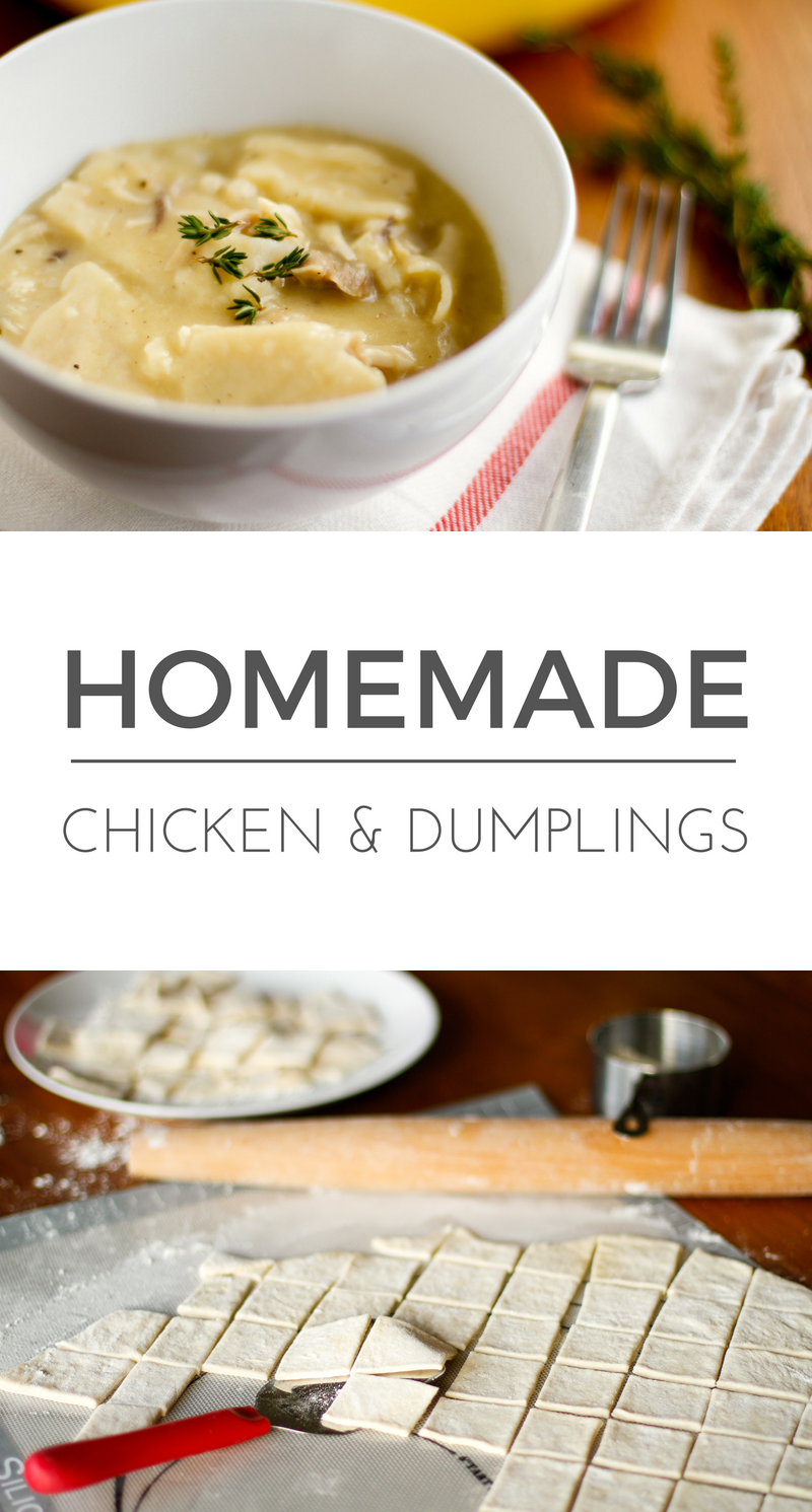 Easy homemade chicken and dumplings recipe easy comforts food easy homemade chicken forumfinder Choice Image
