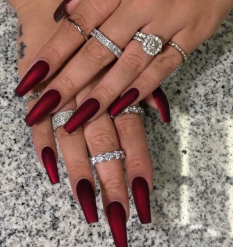 Image about red in Nails💅🏼 by steora on We Heart I