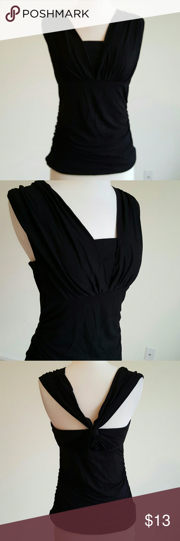 🆕NWT White house Black Market Convertible top 🖤NWT Brand new with tags attached. Comes with booklet to switch styles as well as extra straps White House Black Market Tops Tank Tops