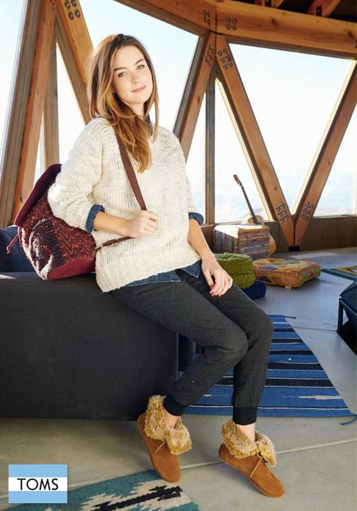 ec128439f66 TOMS new suede booties will help elevate your fall style and allow you to  give back.