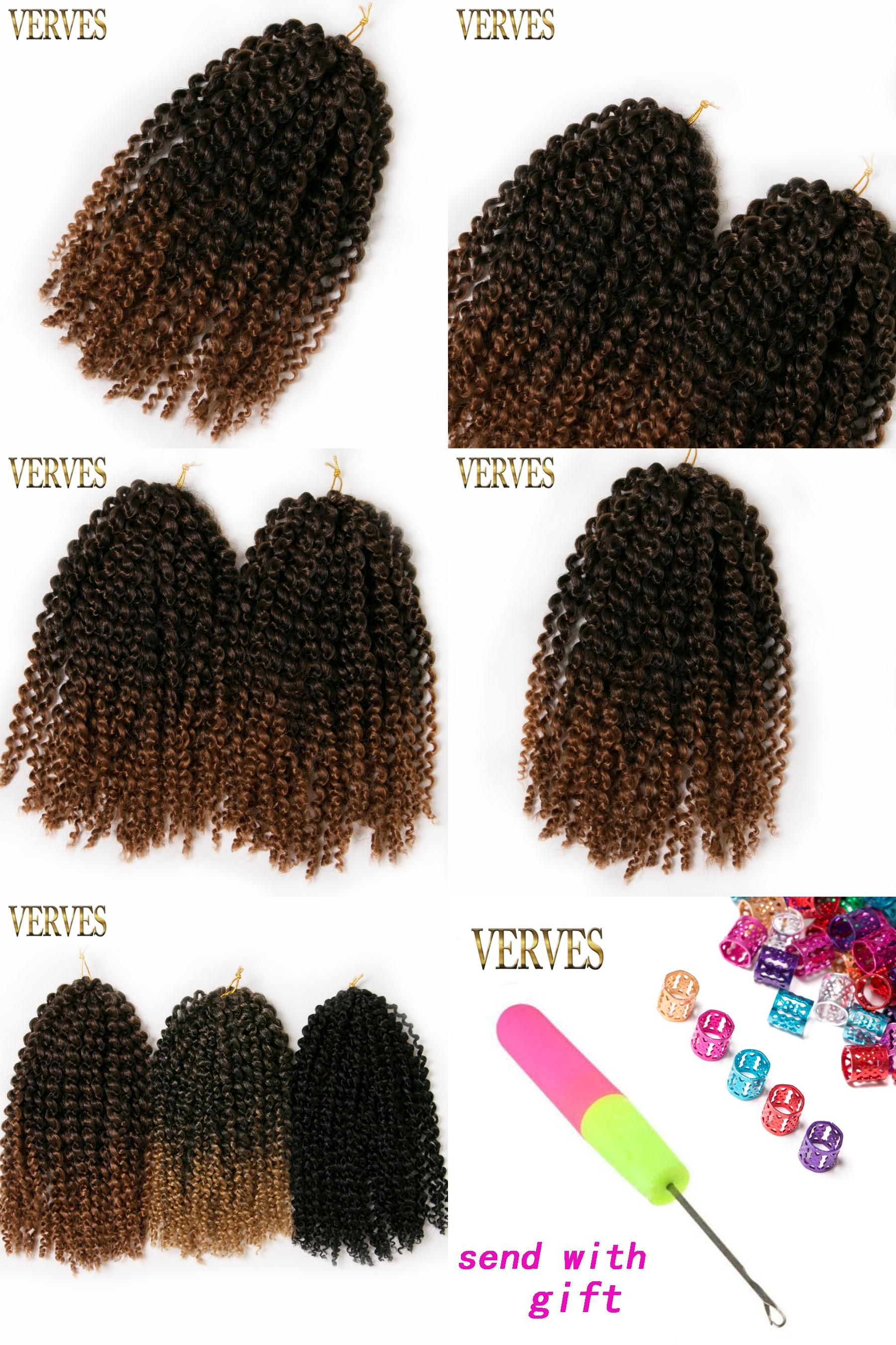 Visit to buy verves pack gpack brownblondblack crochet