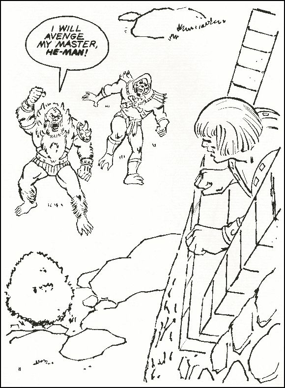 Masters of the Universe He-Man Skeletor Motu Vintage Coloring Pages - new transformers movie coloring pages